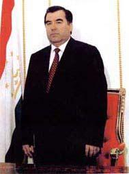 塔吉克斯坦总统拉赫莫诺夫