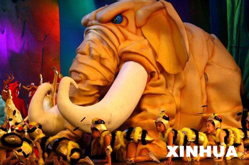 大型动画情景剧《梦想乐园》在北京上演(2)