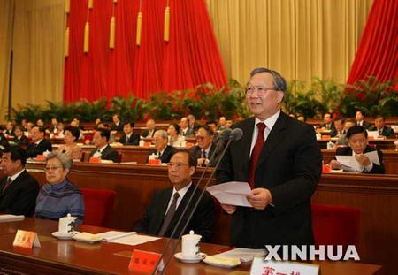 两院院士大会开幕胡锦涛等九常委出席