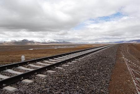 图文:青海高原铁路线
