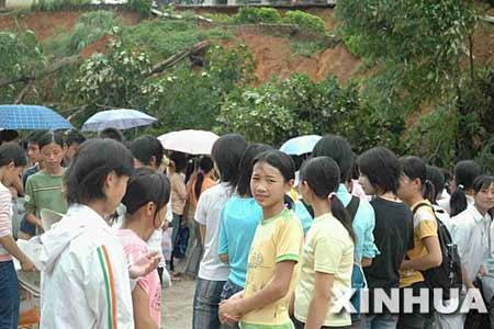 广西梧州发生1379起山体滑坡12人死亡(组图)