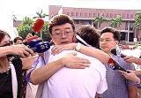 陈水扁幕僚长探望绝食学生遭民众痛骂(图)