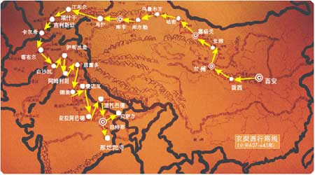 学生手绘广州地图