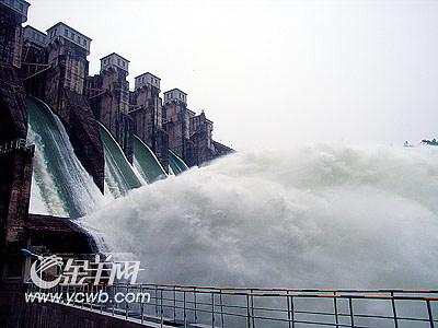 龙川县枫树坝腾出库容好装水