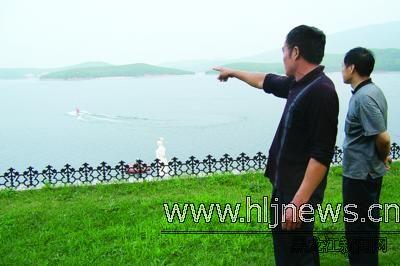 镜泊湖水怪传言调查:据称有游客成功地拍下清晰录像(图)