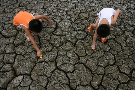 重庆遭遇50年罕见大旱启动旱情日报制度(组图)