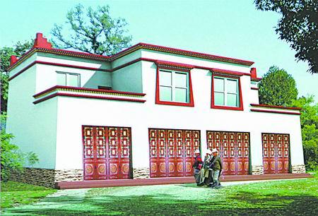 农村新社区住宅设计方案出炉(图)