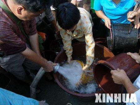 重庆旱灾导致750余万人饮水困难