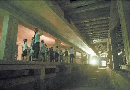 素面亮相成都首个地铁站新益州站竣工