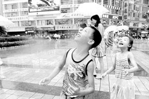 重庆喜降雨