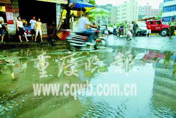 重庆16个区县出现阵雨高温缓解旱情依旧