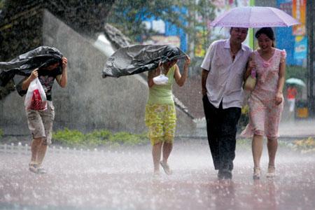 下雨日降5.5℃重庆主城短暂凉爽又要热