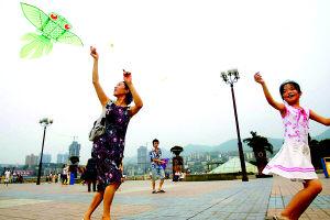 重庆24个区县昨降雨两月来昨最凉快
