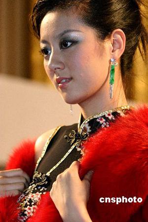 组图:北京首届奢侈品展览会开幕