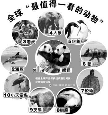 全球环境保护组织称,希望这项调查有助于提升公众对野生动物的保护