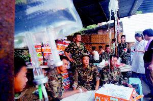 重庆3000人扑灭山火纵火嫌疑人已被控制(图)