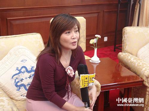 台湾歌星龙飘飘 好心态是最昂贵的化妆品