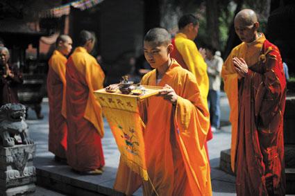 与少林方丈释永信面对面:众僧的定义首先是人