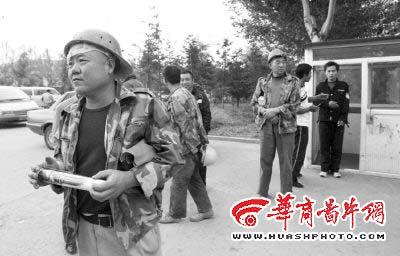 数十工人被拒租住小区外(图)