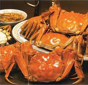 台湾曝出大闸蟹致癌说海南市民消费热情未减