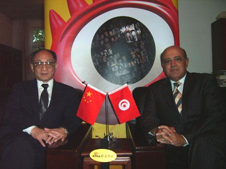 突尼斯驻华大使:突尼斯人非常感激中医