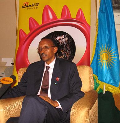独家专访卢旺达总统:让非洲从与中国往来中受益
