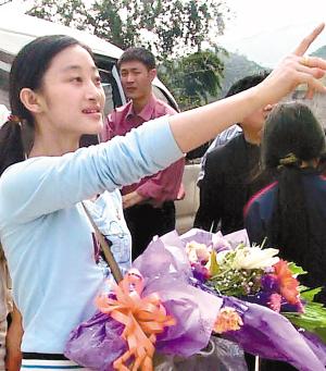 2006感动中国被推荐人:李樱樱(图)