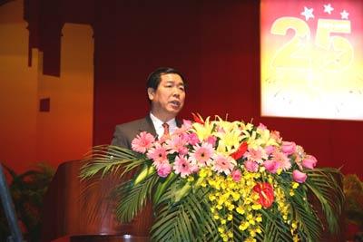 ...、厦门市委书记何立峰致辞-贾庆林出席厦门特区25周年庆祝大会并作...