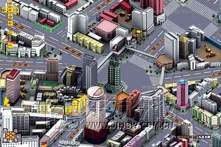 郑州有了三维立体地图 网上可任意看郑州市景