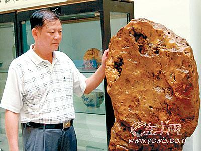 藏家故事:最喜石头天然无雕琢