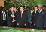 胡锦涛:中非友好合作堪称当今南南合作典范