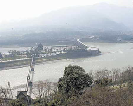 解渴:让大渡河给岷江送水