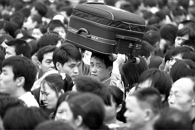广州站多趟列车晚点影响万人