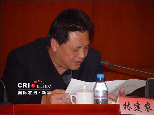 厦门劳动局投�y�-z)_厦门市劳动和社会保障局局长林建农对厦门去年的劳动保障工作作了