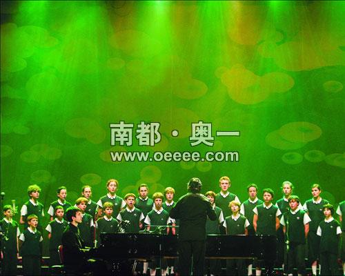 牛 圣马可童声合唱团唱响