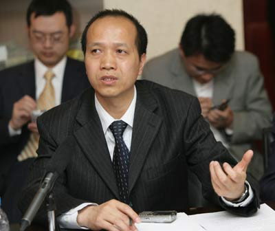 图文:国家知识产权局管理协调司副司长曾武宗