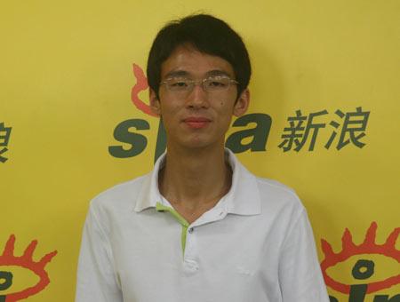 黄厚瀚:上三年高三考大学