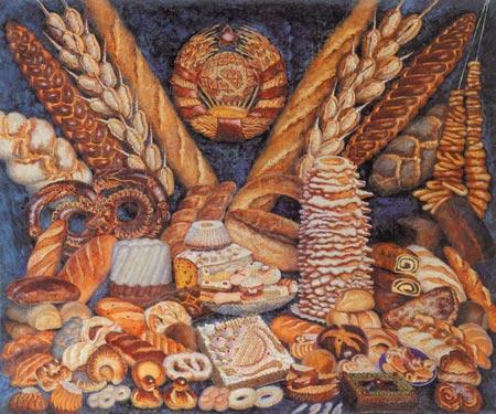 观前苏联艺术展有感:社会主义有多少种面包(图)图片
