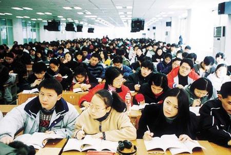 上海高中生报考选择多元:尖子生反思国外大学阅读课升学高中英语图片
