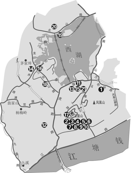 浙大的手绘地图