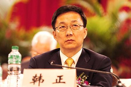 图文:上海市市长韩正