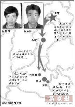 公安部通缉杀北京警察疑犯续:交警拒受贿遇害