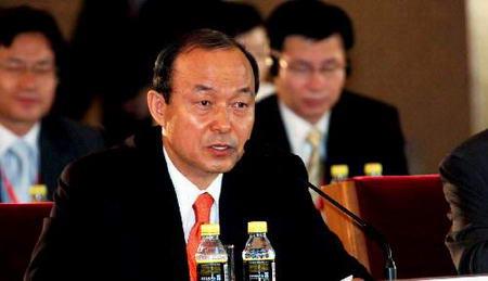 图文:韩国代表团团长发言