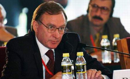 图文:俄罗斯代表团团长发言