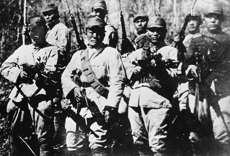 图文:东北抗联第一路军第二方面军之一部