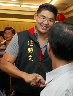 国民党选出新一届中常委连胜文等31人当选(图)