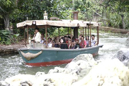 迪斯尼十大必玩之探险世界森林河流之旅(图)