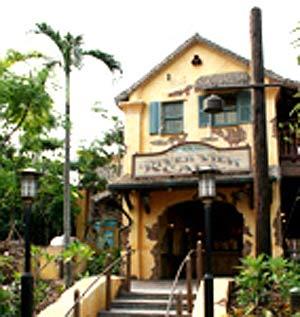 组图:河景餐厅--唯一设有转盘的中菜厅