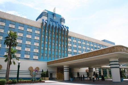 组图:香港迪斯尼好莱坞酒店外景