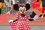 图文:迪斯尼乐园开幕-米老鼠在迪斯尼开幕现场